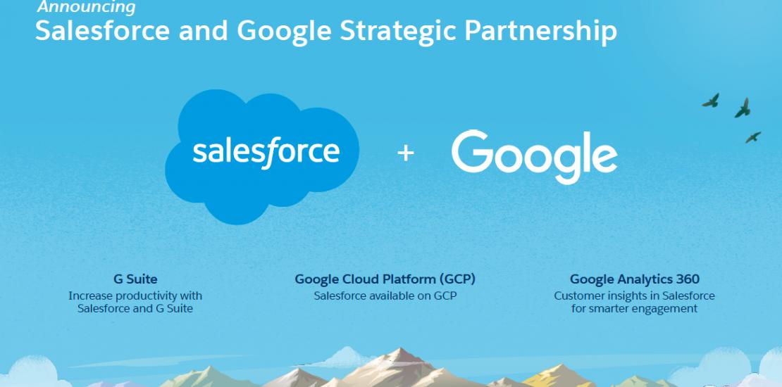 """""""Salesforce ve Google"""" Stratejik Ortaklık"""